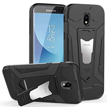 san francisco e382c 8ccee ykooe Galaxy J5 Pro Case, (Silicone Series) Heavy Duty Protection Hybrid  Shockproof Dual Layer Protective Case Cover with Stand Samsung Galaxy J5  Pro ...