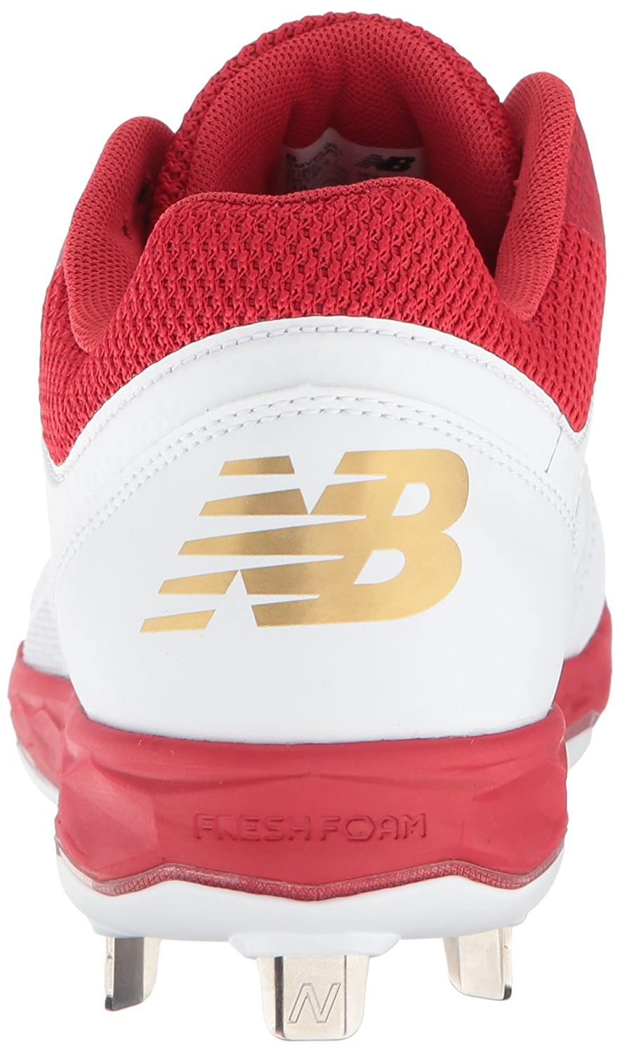 New Balance B075R3R9PF Women's Velo V1 Metal Softball Shoe B075R3R9PF Balance 13 D US|Red/White efda6b