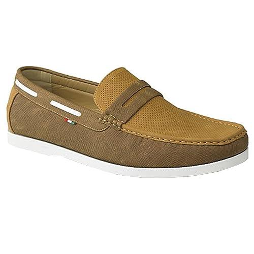 Zapatos grises D555 para hombre 0PqCdORFZ