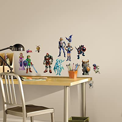 RoomMates Zelda: Ocarina Of Time 3D Peel And Stick Wall Decals: Home Improvement