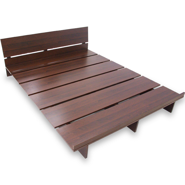 LOWYA すのこベッド ロータイプ 木製