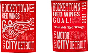 Team Sports America Detroit Red Wings Fan Rules Garden Flag - 13 x 18 Inches