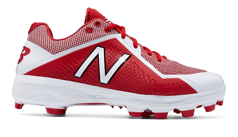 (ニューバランス) New Balance 靴シューズ メンズ野球 TPU 4040v4 Red with White レッド ホワイト US 13 (31cm) B073YLNVWY