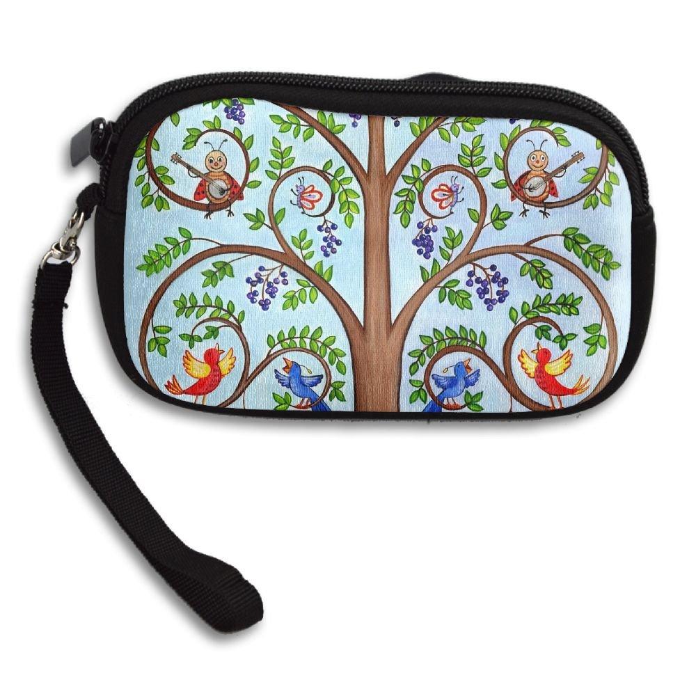 WCVRUT® - Cartera de Embrague Unisex para Mujer, árbol de la ...