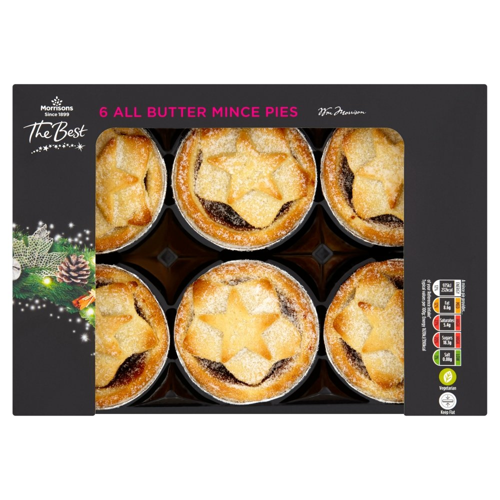 Morrisons The Best Mince Pies 6 Pies