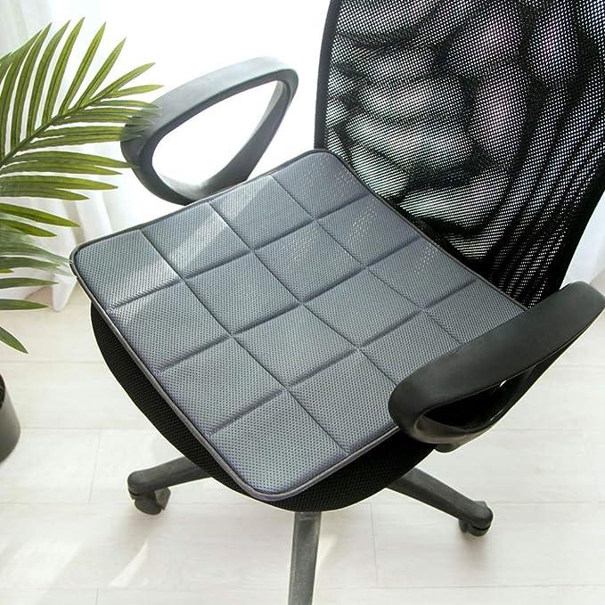 Amazon.com: Cojines cuadrados suaves para silla ...