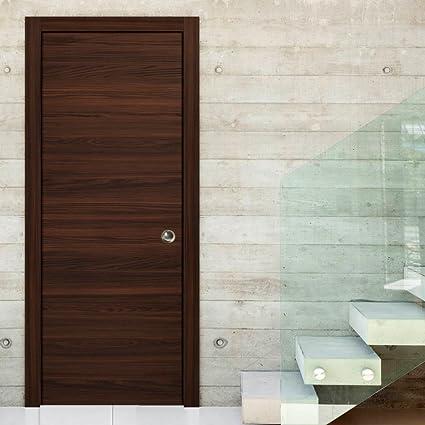 Genial Planum 0010 Interior Sliding Closet Pocket Door Chocolate Ash Without  Casings And Extensions (36u0026quot;
