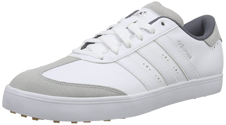 adidas Adicross V, Men's Golf Shoes, White (White/White/Gum), 9.5 UK (44  EU): Amazon.co.uk: Shoes & Bags