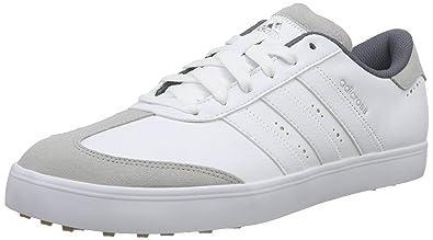 c3b14c1e6bdc8 adidas Herren Adicross V Golfschuhe Weiß White/Gum, 43 1/3 EU ...