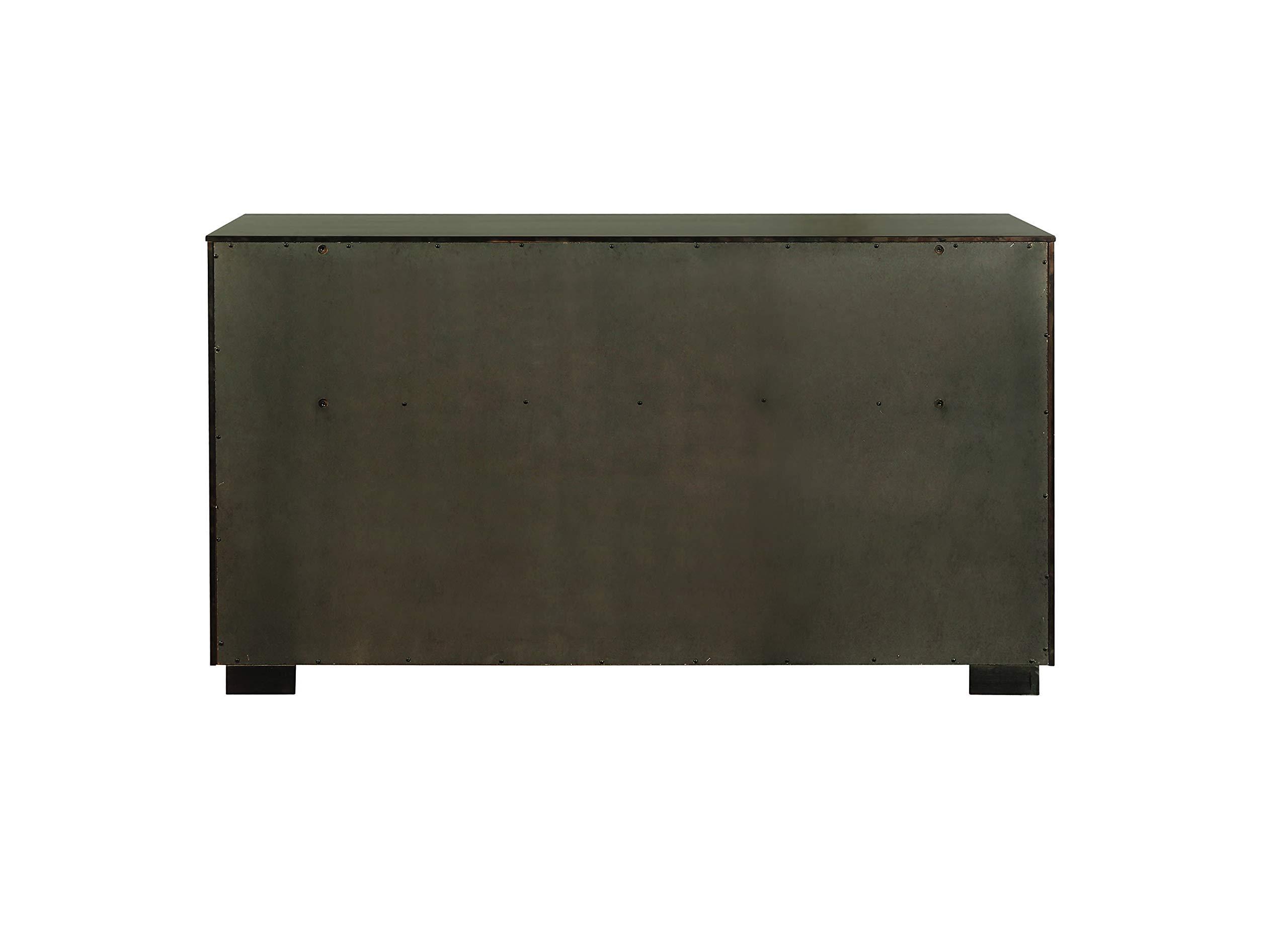 Scott Living 215713 Ingerson 8-Drawer Dresser, Smoked Peppercorn by Scott Living (Image #4)