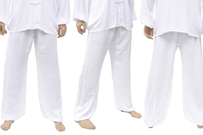 Pantalon Kung-fu, Tai Chi, Viscose+Coton ShenLong