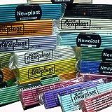 10 500g bars of Newplast Modelling Plastercine Clay
