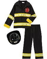 fireman fire fighter halloween dressup costume w hat choose size - Fireman Halloween