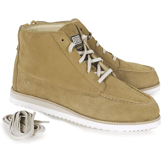 Guerrero mezclador diferente  adidas Originals Ransom Creek Mens Suede Boots (UK 11 / EUR 46 / US 11.5)  Beige: Amazon.co.uk: Shoes & Bags