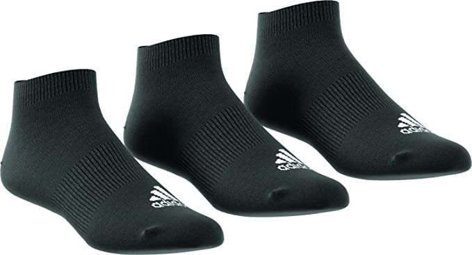 Adidas Performance No-Show Thin 3PP, Calcetines unisex, 3 pares ...