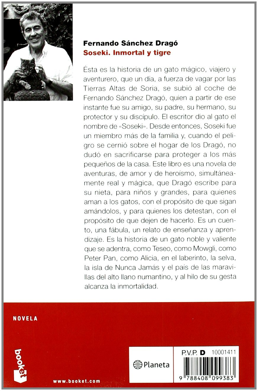 Soseki: Inmortal y tigre (NF Novela): Amazon.es: Sánchez Dragó ...