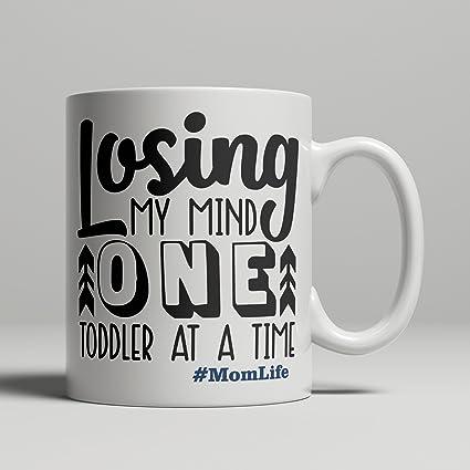Amazon Hashtag Momlife Gift For Mom New Life Mug Losing My