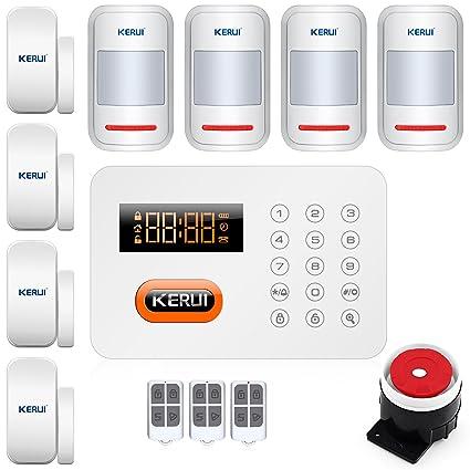 KERUI x1 Carlos antirrobo de puertas y ventanas Detector de movimiento de magnetismo sistema de alarma
