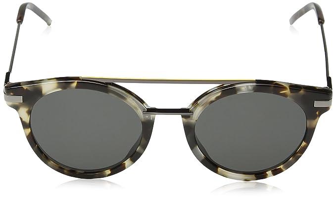 Fendi Herren Sonnenbrille FF 0225/S IR 3MA, Braun (Havana Ruthen/Grey Blue), 49