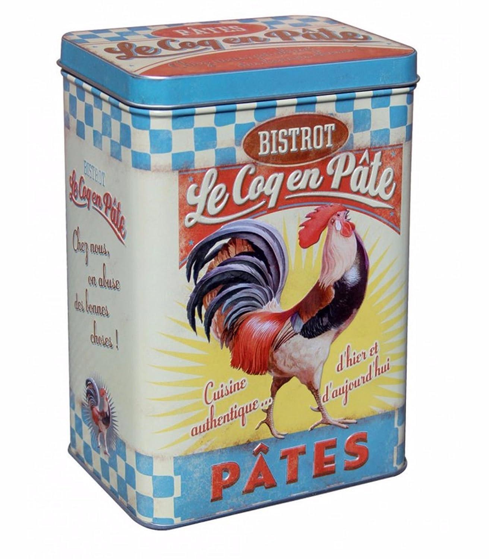 ONOGAL 5 Cajas Metalicas Vintage para Especias Arroz Azúcar Harina y Pasta 211253 7135: Amazon.es: Hogar