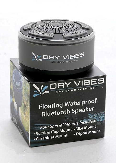 DRYCASE DryVIBES 2 0-Waterproof Floating Bluetooth Speaker