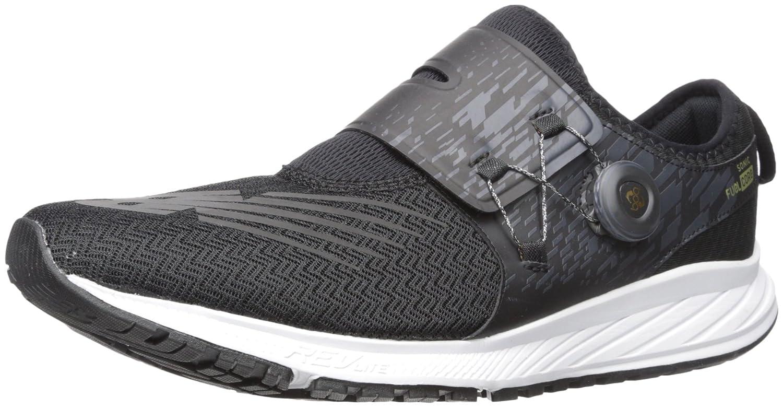 New Balance Men's SONIV1 Running Shoe B01N43M454 7 2E US|Black/Gold