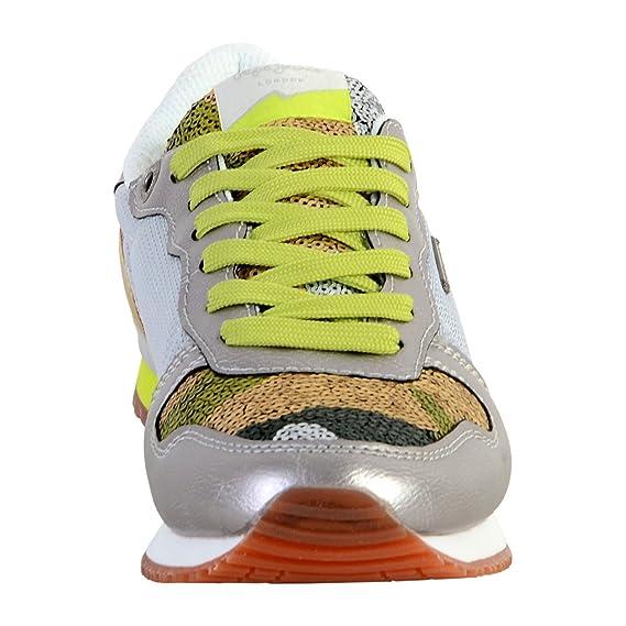 Plata Baskets Complementos Argentées Y Gable es Amazon Zapatos 37 qqtOv