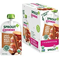 5 Pack Sprout Organic Stage 2 Baby Food Pouches