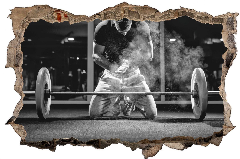 Bodybuilder Fitness Training Wandtattoo Wandsticker Wandaufkleber D0625 Größe 100 cm cm cm x 150 cm aed5c5