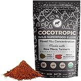 Wild Cocotropic Mushroom Drink Elixir with Cocoa, Reishi, Chaga Extract, Maca, Turmeric | Hot Nootropic Brain and Focus…