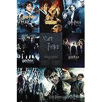1art1® 60266 Harry Potter Poster Collection tous les Films en Anglais 91 x 61 cm