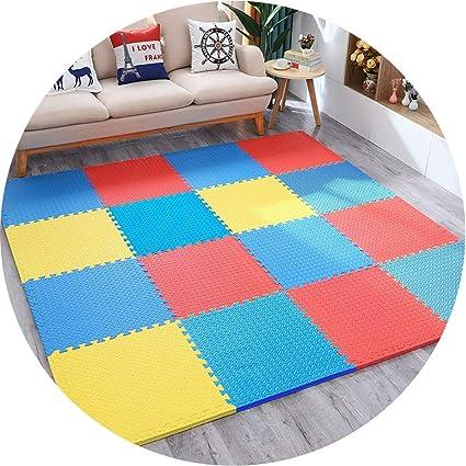 YANGJUN-alfombra puzzle Bebe Suelo Goma Eva Entrelazar ...