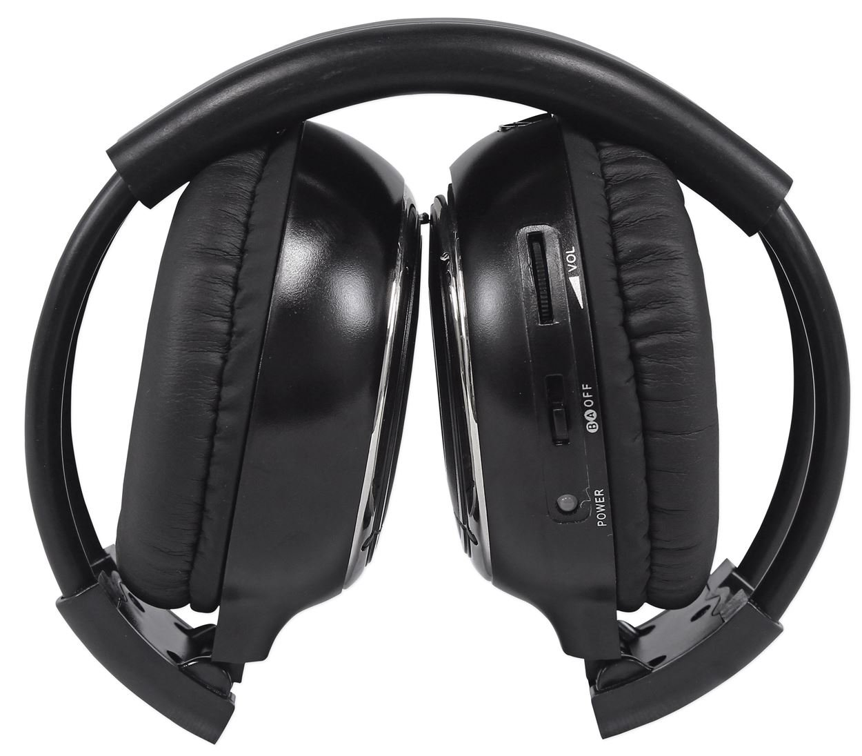 Rockville RFH3 Wireless Universal Infrared IR Car Headphones for Any Car Monitor by Rockville