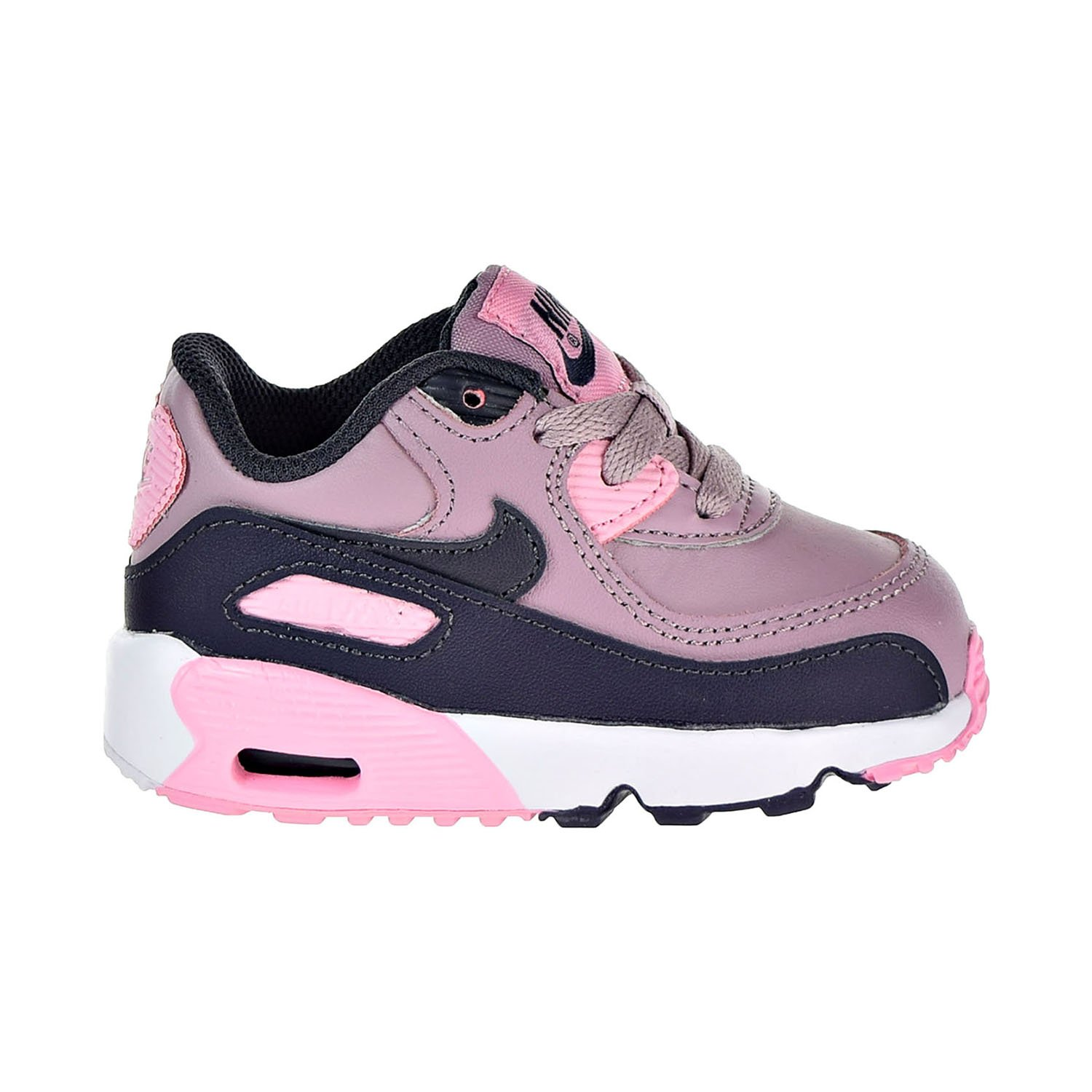NIKE Air Max 90 Leather Toddler's Shoes Elemental Rose 833379 602