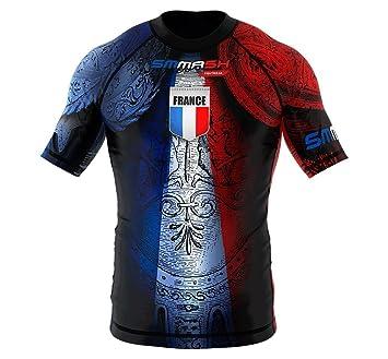 SMMASH Rashguard France Langarm MMA BJJ UFC Kampfsport