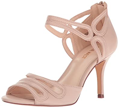 b1180c3ea Nine West Women s Gamel Leather Dress Sandal