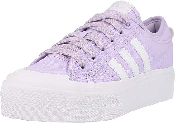 Exclusión Amplificador Misericordioso  adidas Nizza Platform W, Sneaker Mujer: Amazon.es: Zapatos y complementos