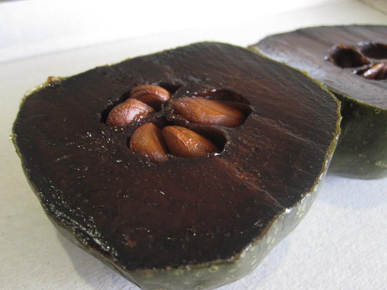 10Pcs Rare Diospyros Digyna Black Sapote Persimmon Chocolate Pudding Fruit Seeds