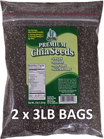 Amazon.com : Chia Seeds (Semillas De Chia) Bulk Weights: 1 ...
