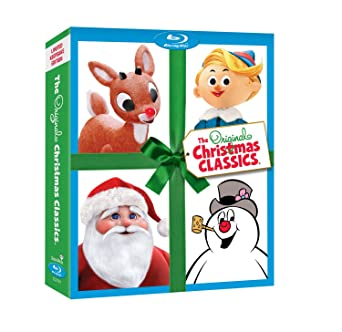 Rudolph Christmas Movie Characters.Amazon Com The Original Christmas Classics Gift Set With