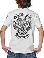(ジュゲム) Laboratory of JUGEM Tシャツ 半袖 Brutality Tribeモデル スカル 骸骨