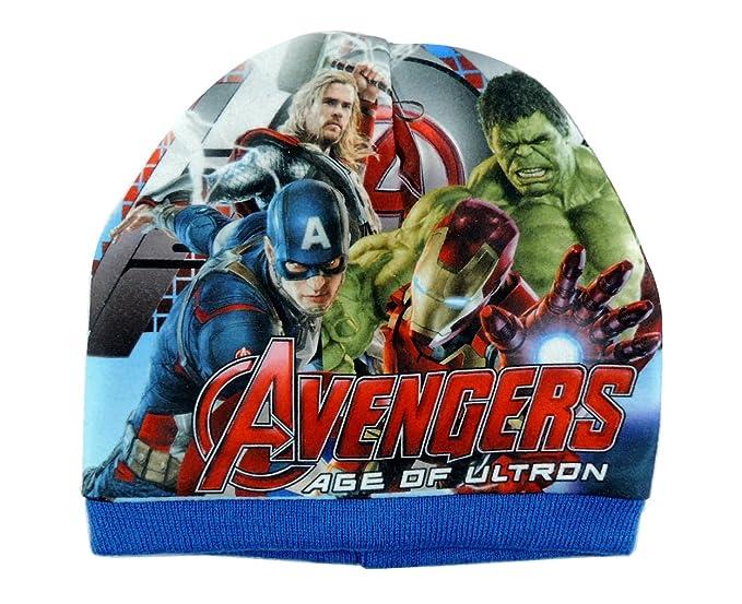 AVENGERS Cappello cuffia bambino Capitan America Iron man Hulk berretto  invernale lana  Amazon.it  Abbigliamento f90a2bf4677e
