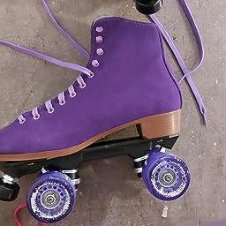 Amazon Com Sure Grip Purple Boardwalk Skates Outdoor 9 Sports Outdoors