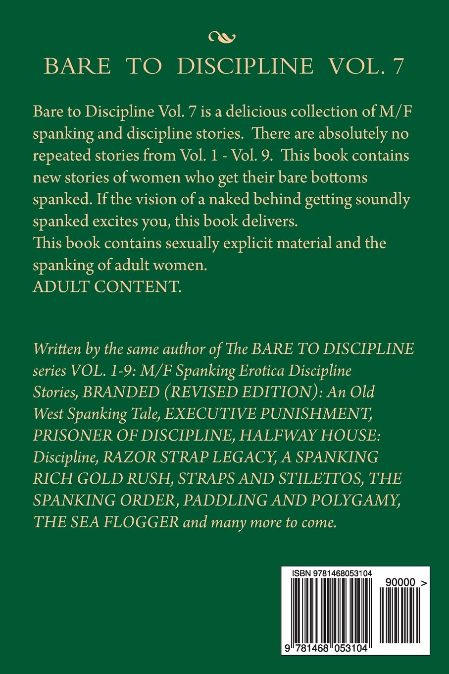 BARE TO DISCIPLINE Vol. 5: M/F SPANKING EROTICA DISCIPLINE STORIES
