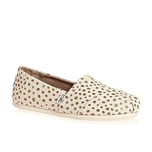 TOMS Women Alpargata Rose Gold/Natural, Mujer: Amazon.es: Zapatos y complementos