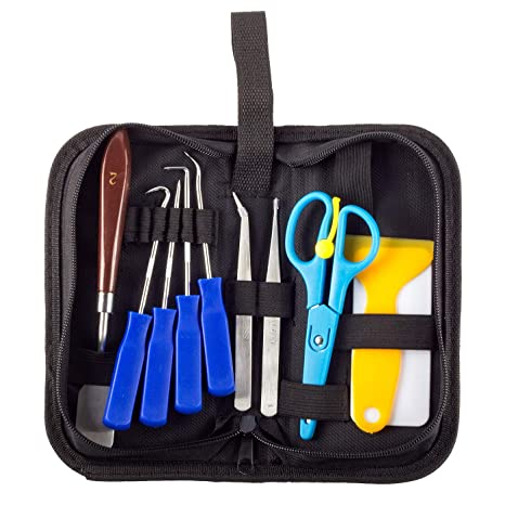 11 piezas de herramientas de vinilo de acero inoxidable para ...