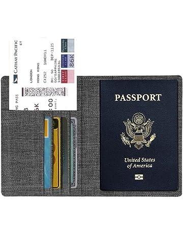 Clair Transparent Passport Cover Coque Support Organisateur carte d/'identité voyage Protecteur