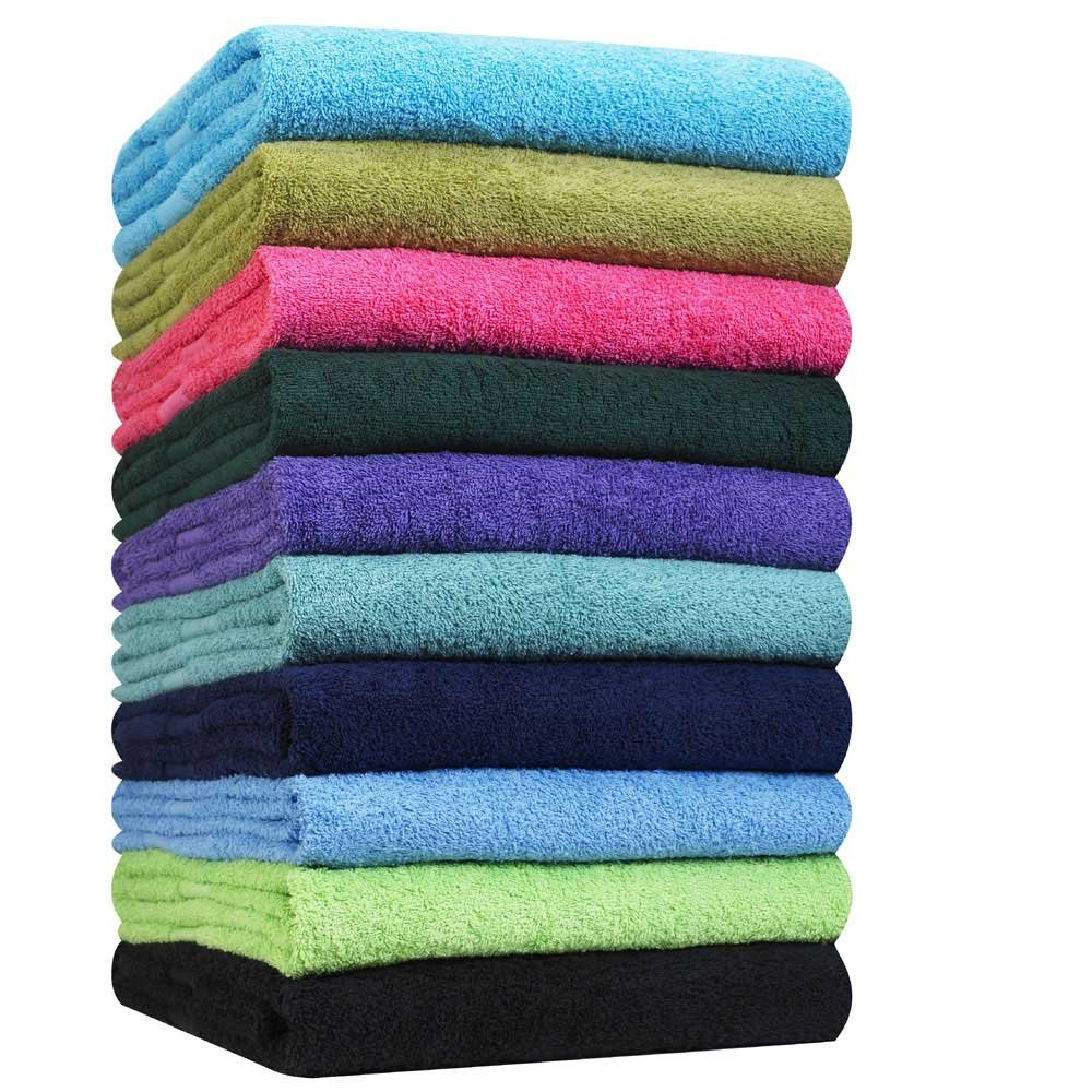 """Hand Towels-24 Pack-Dark Brown, Super Absorbent Ring spun, 100% Cotton,(Size 16""""x27""""), Commercial Grade, Multipurpose, Gym-Spa-Salon Towel, 3 lbs. per Dozen Quality -By Pacific Linens (Dark Brown)"""