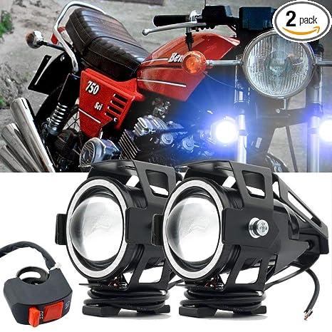 Professional Lighting Helpful 1pcs 10w Motorcycle Spotlight Bright Auxiliary Lamp U5 Chip Led Work Light Fog Light Car Accessories Motorcycle Bike Street Price Indicator Lights