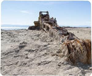 alfombrilla de ratón grúa oxidada en el mar de Salton: Amazon ...